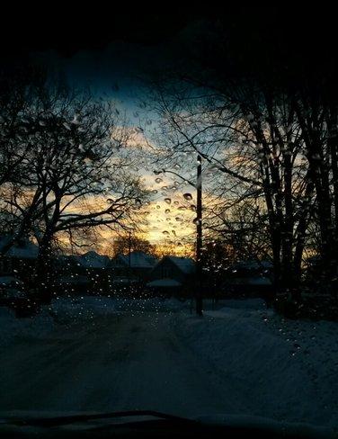 thaw? Stratford, Ontario Canada