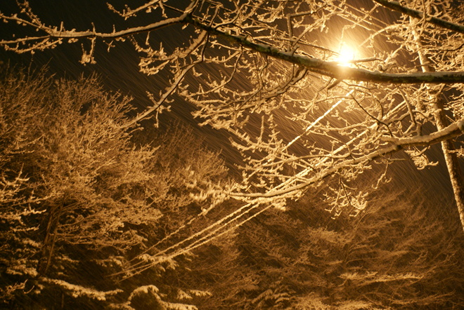 Waverley Winter Night Waverley, Nova Scotia Canada