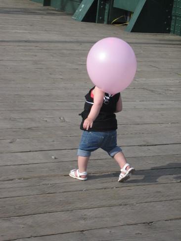 balloon head Winnipeg, Manitoba Canada