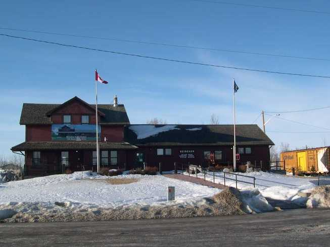 Beiseker Railway Station Beiseker, Alberta Canada