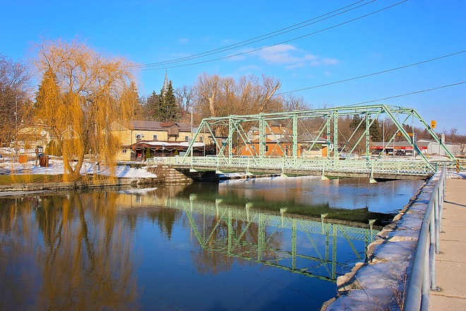 Water Street Truss St. Marys, Ontario Canada