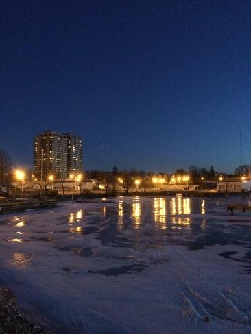 Night Lights Hamilton, Ontario Canada