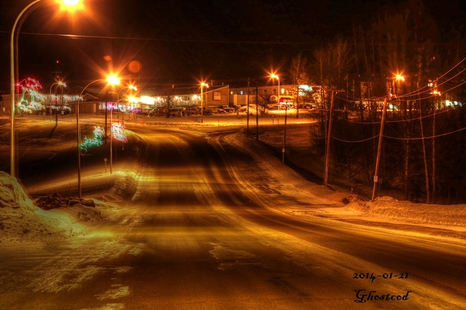 -6.6°C to -9.0°C Swan Hills, Alberta Canada