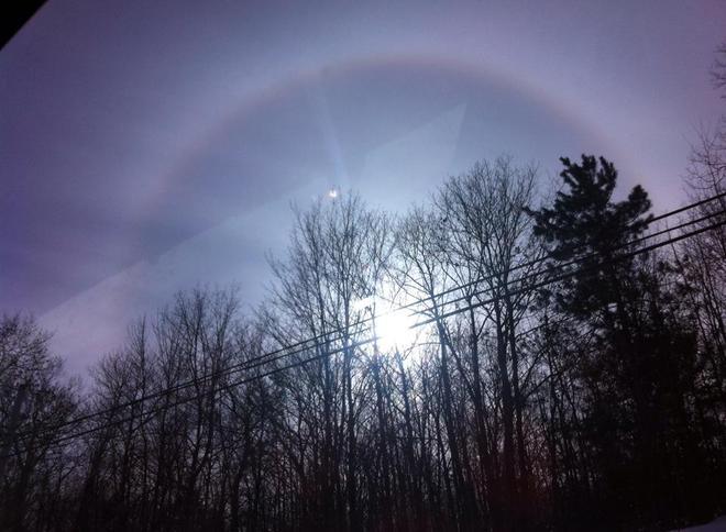 Sun Rainbow Penetanguishene, Ontario Canada