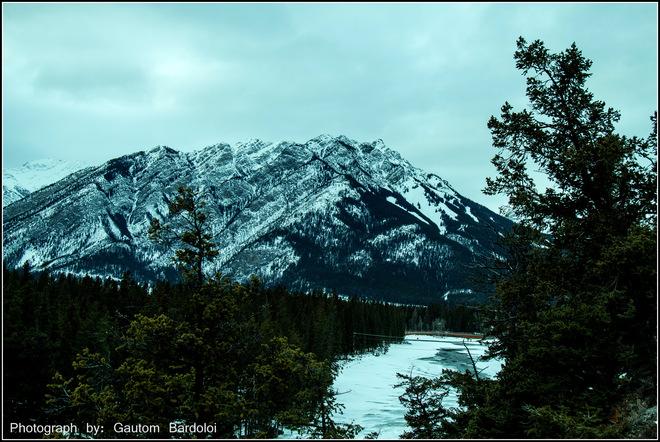 Magnificent view of Banff Edmonton, Alberta Canada