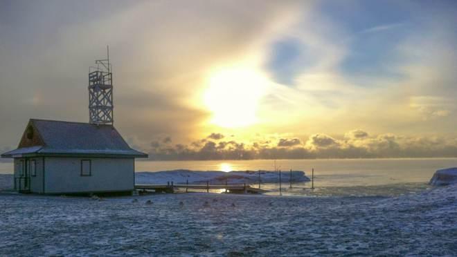 Polar Sunrise Toronto, Ontario Canada