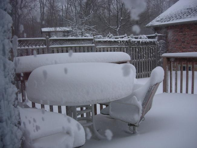 Snow Table 2 Woodstock, Ontario Canada