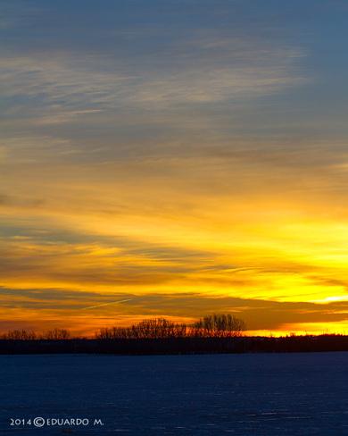 Beautiful Sunrise Strathmore, Alberta Canada