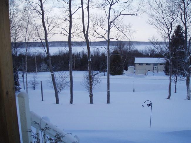 calm in the storm Wiarton, Ontario Canada