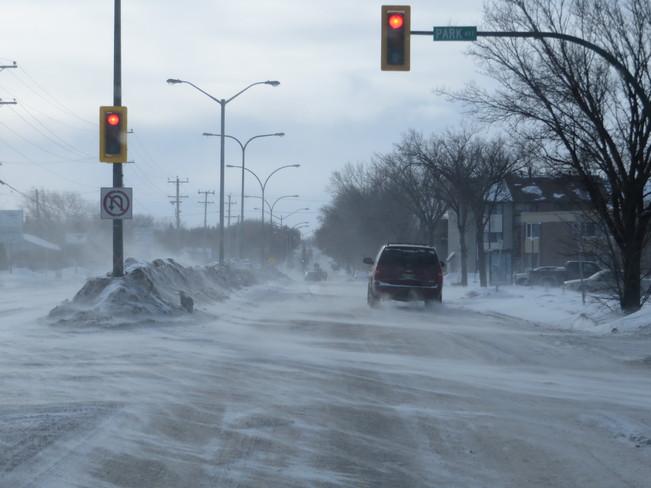 Frigid Weather Brandon, Manitoba Canada