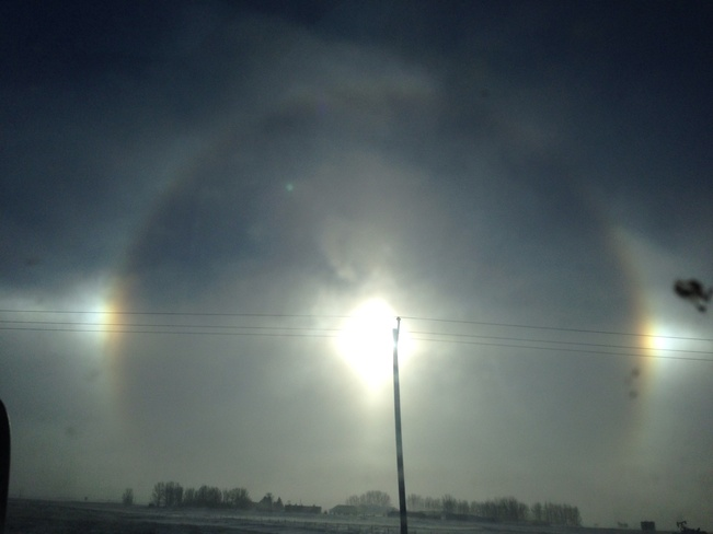 cold Estevan, Saskatchewan Canada