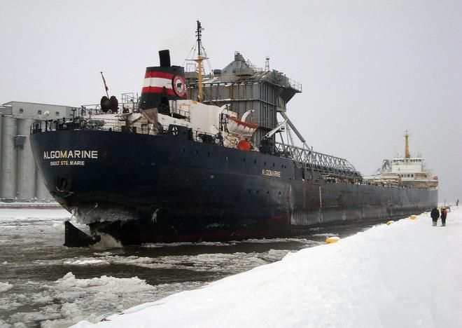 """Late Winter Arrival"" Owen Sound, Ontario Canada"