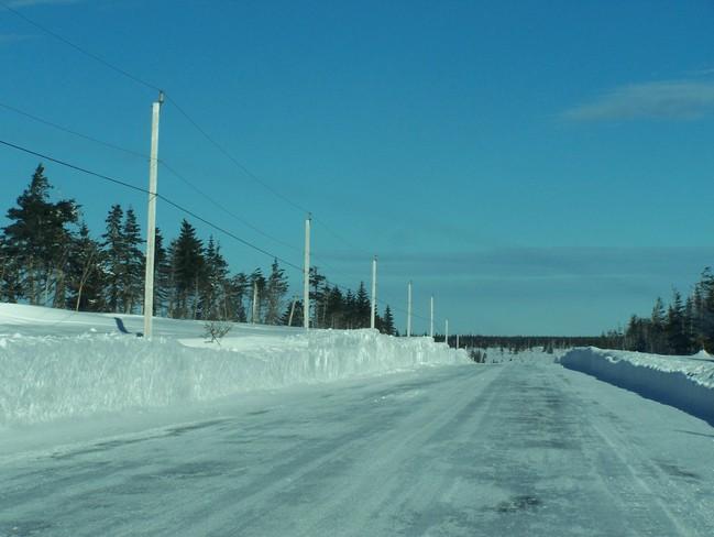 The Road to Cape North Dingwall, Nova Scotia Canada