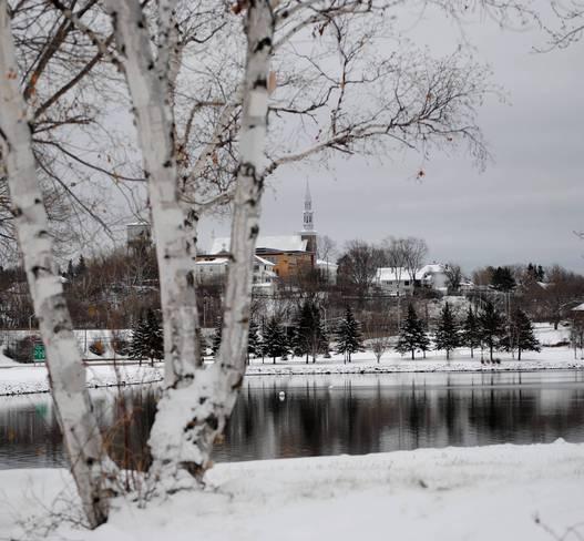 Waterfront Kenora, Ontario Canada