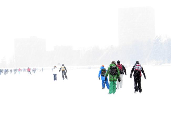 Winter family fun Ottawa, Ontario Canada