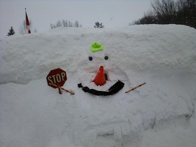 Time to stop Owen Sound, Ontario Canada