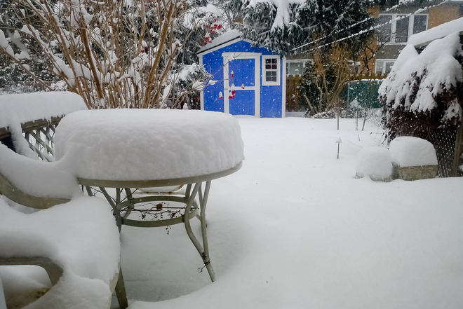 Snow day Etobicoke, Ontario Canada
