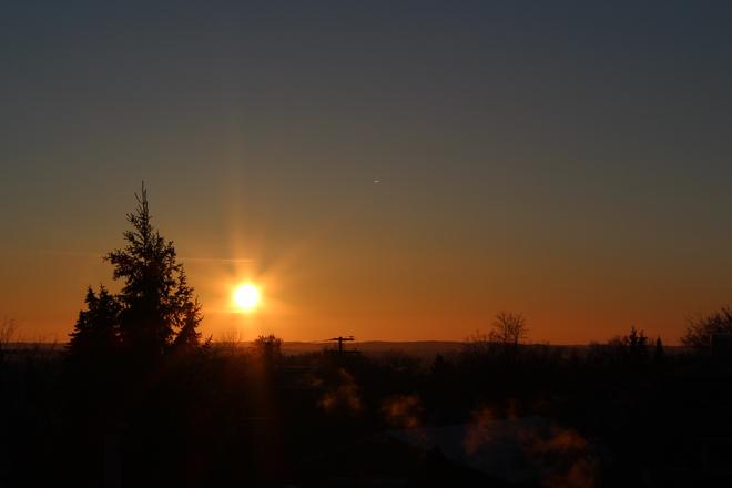 Sunset North Battleford, Saskatchewan Canada
