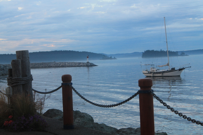 Sidney Harbour, Vancouver Island Sidney, British Columbia Canada