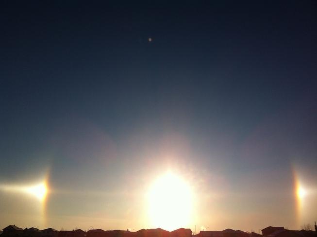 Sundown Airdrie, Alberta Canada