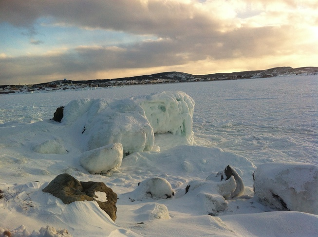lots of ice Bonavista, Newfoundland and Labrador Canada