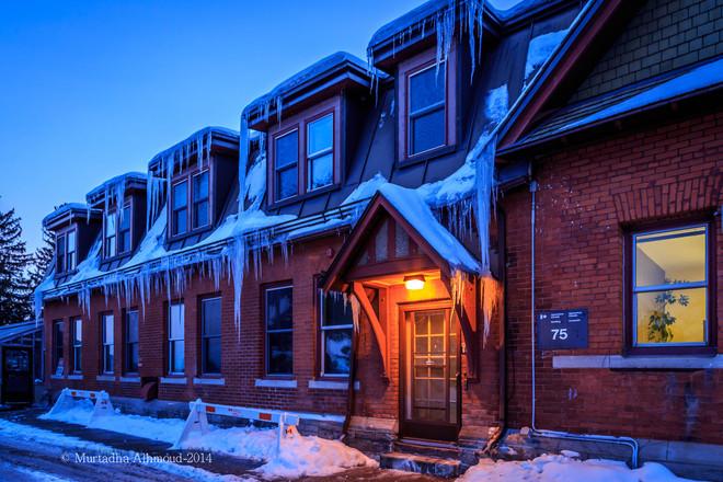 icy house Ottawa, Ontario Canada