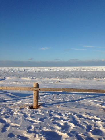 beach north shore Charlottetown, Prince Edward Island Canada
