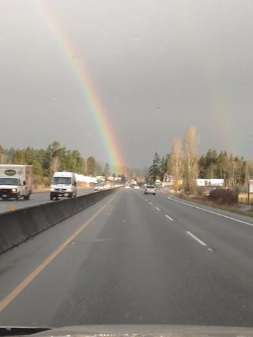 Rainbow doubles Saanich, British Columbia Canada