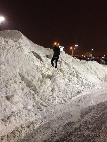 snowbankselfie Guelph, Ontario Canada