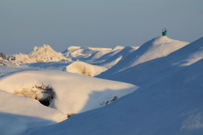 Snowy Hills St. Thomas, Ontario Canada