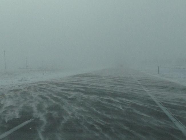 Blowing Snow #2 Grand Forks, North Dakota United States