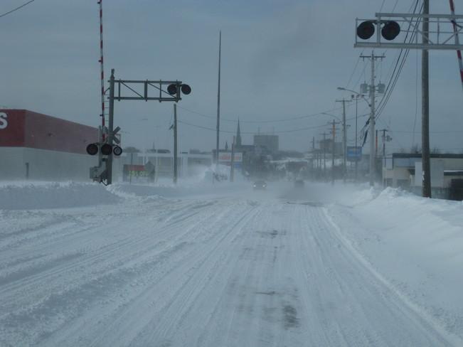 latest snow storm Saint John, New Brunswick Canada