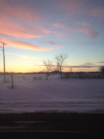 sunset Martensville, Saskatchewan Canada