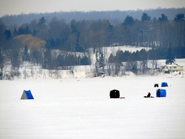 """The Ice Huts"" Owen Sound, Ontario Canada"