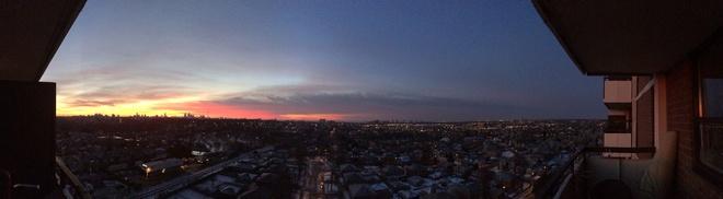sunrise in toronto Keelesdale-Eglinton West, Ontario Canada