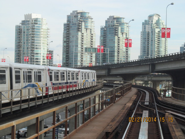Skytrain in Vancouver Vancouver, British Columbia Canada