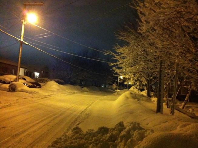 after the snow Carbonear, Newfoundland and Labrador Canada