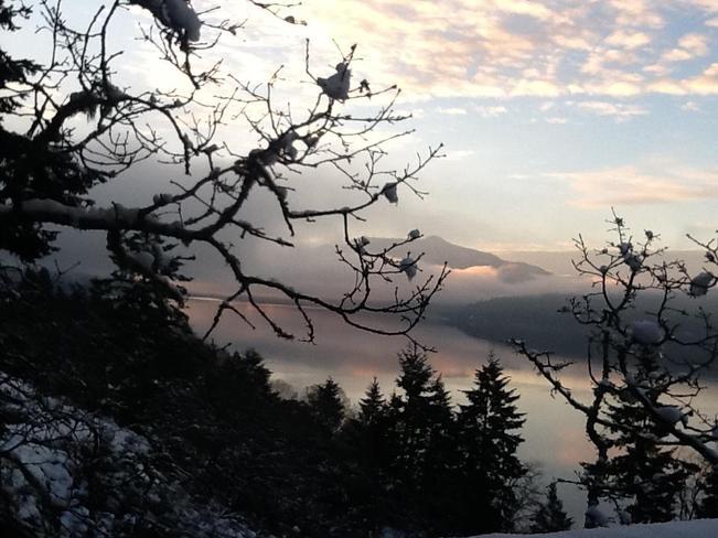 Maple Bay sunrise 3 North Cowichan, British Columbia Canada