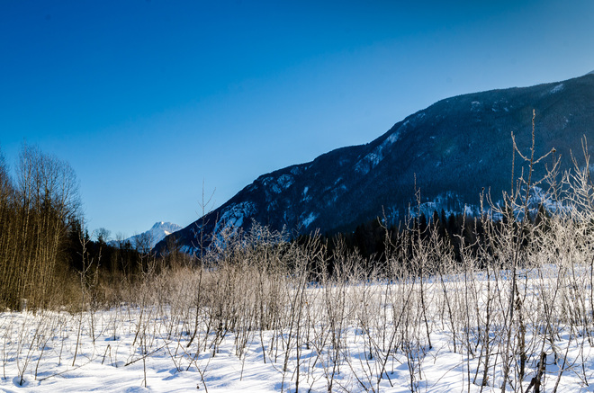 Clear Day Revelstoke, British Columbia Canada