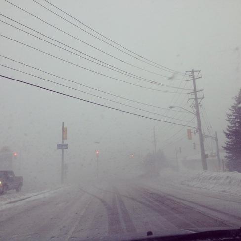 Snow globe day Kitchener, Ontario Canada