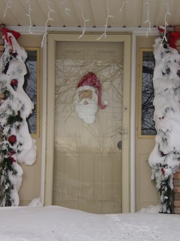 Santa has a sense of humour Plympton-Wyoming, Ontario Canada