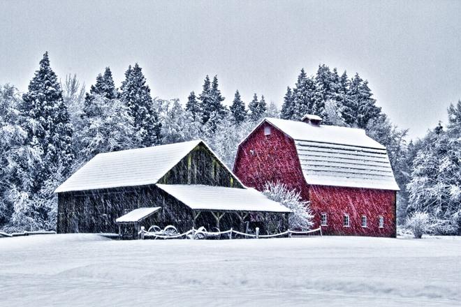 Red Barn Langley, British Columbia Canada