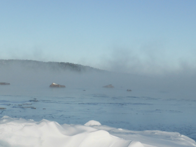 Ocean Mist Birchy Bay, Newfoundland and Labrador Canada