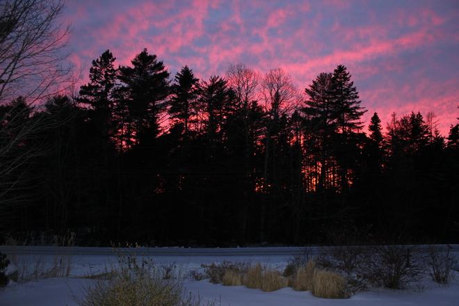 Sunset Chester, Nova Scotia Canada
