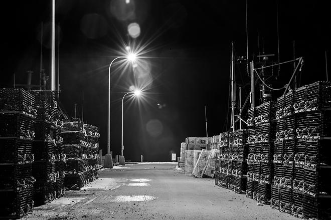 The Government Wharf in Eastern Passage Halifax, Nova Scotia Canada