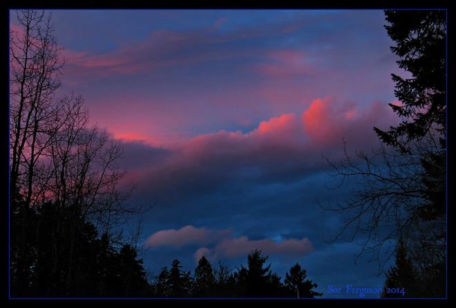 North Saanich Sunset North Saanich, British Columbia Canada
