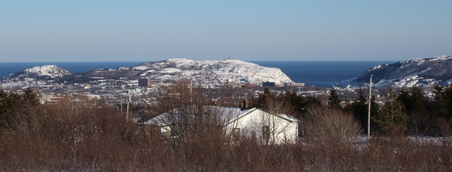 Partial View of St. John's St. John's, Newfoundland and Labrador Canada