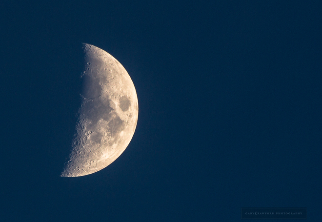 Bass lake Moon