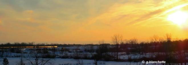 Sunset Glory Paris, Ontario Canada
