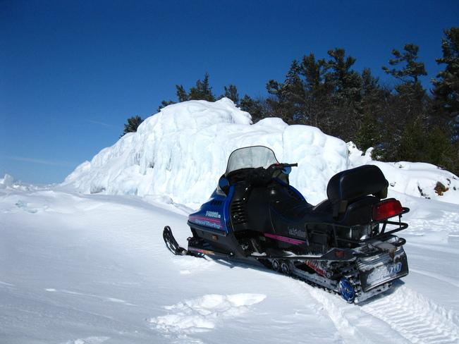 sledding Sault Ste. Marie, Ontario Canada